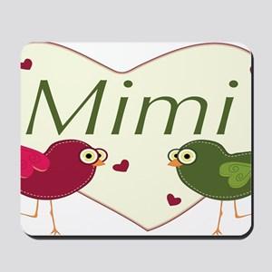 mimilovebirds Mousepad